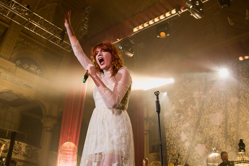 Florence & The Machine @ Blackpool Empress Ballroom, May 2010