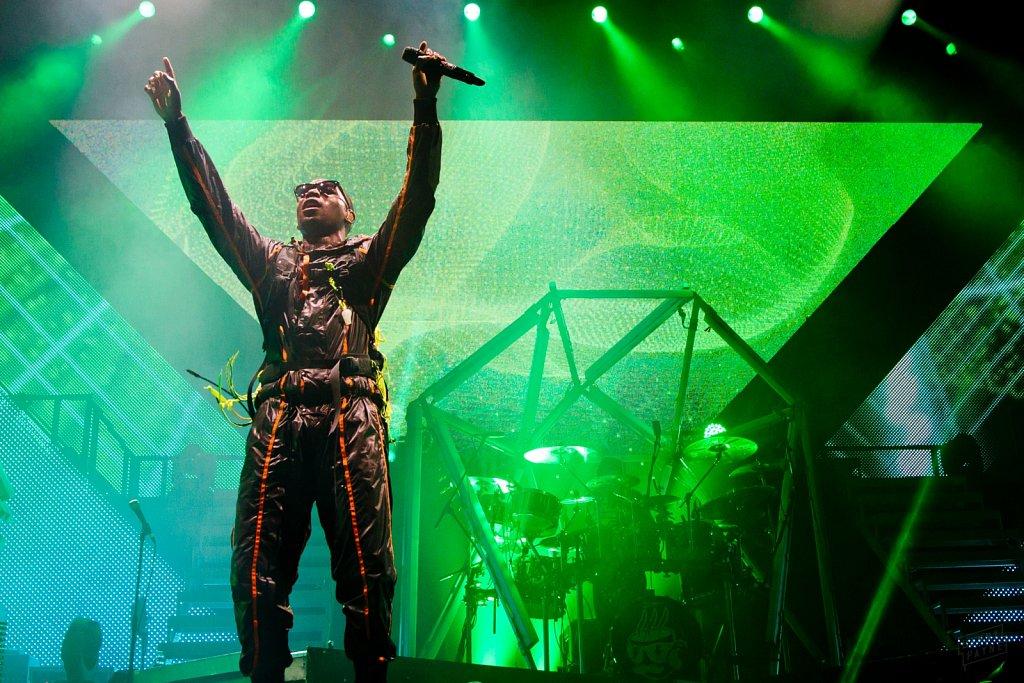 Tinie Tempah @ Manchester Arena, Nov 2011