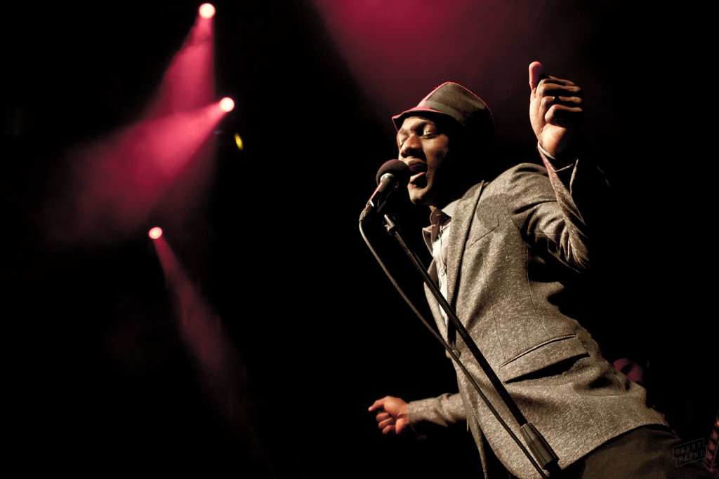 Aloe Blacc @ Leeds Academy, Dec 2011