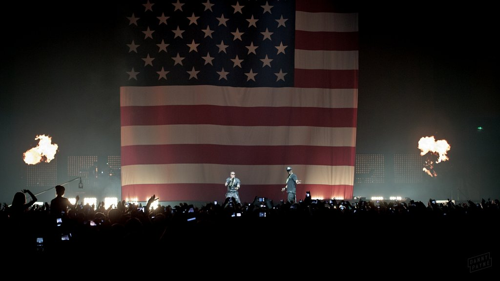 Jay-Z & Kanye West @ Sheffield Arena, Jun 2012