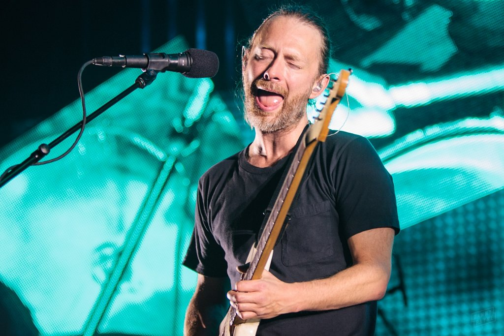 Radiohead @ Manchester Arena, Oct 2012