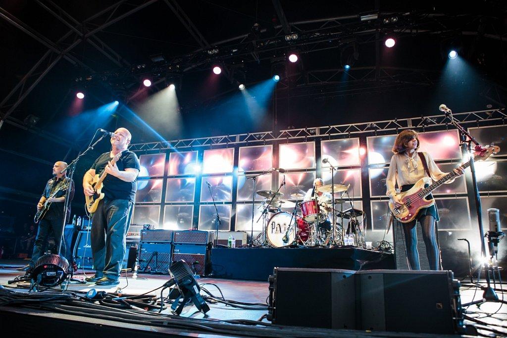 Pixies @ Manchester Castlefield Bowl, Jul 2014