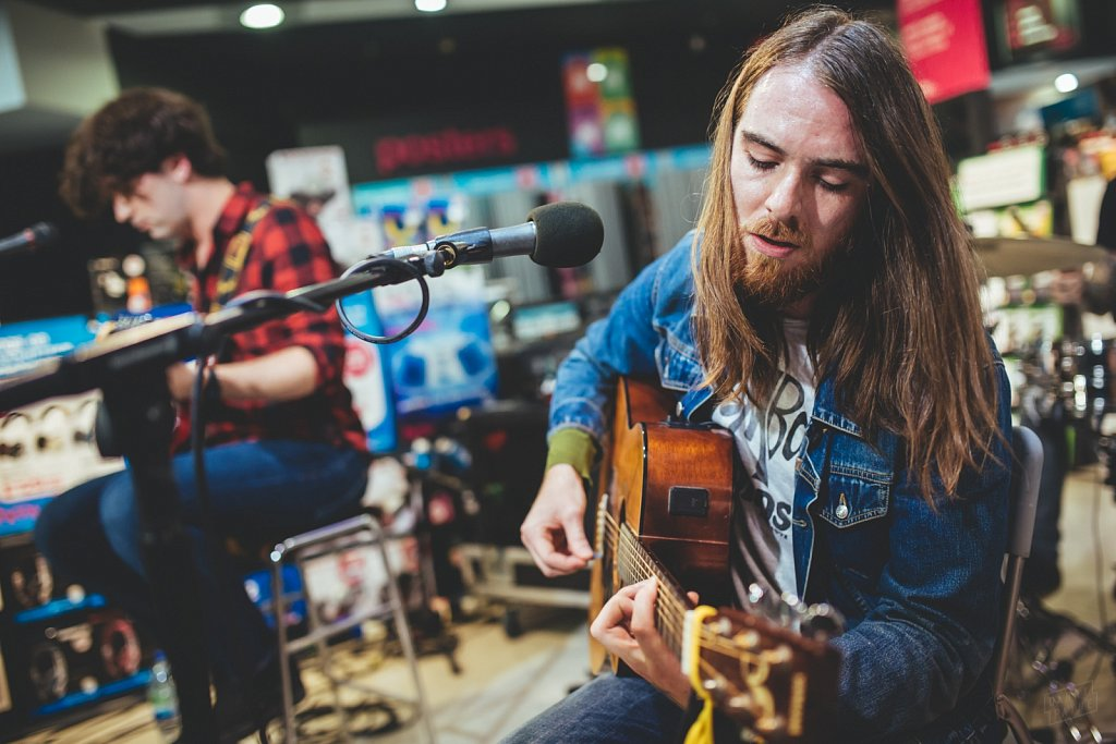 Pulled Apart By Horses @ HMV Leeds, Sep 2014