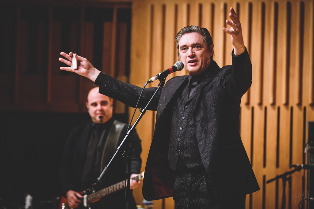 Teho Teardo & Blixa Bargeld @ Howard Assembly Rooms, Sep 2014
