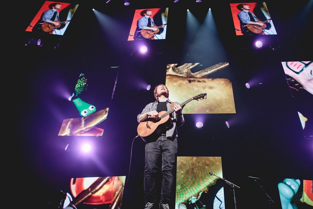 Ed Sheeran @ Leeds Arena, Oct 2014