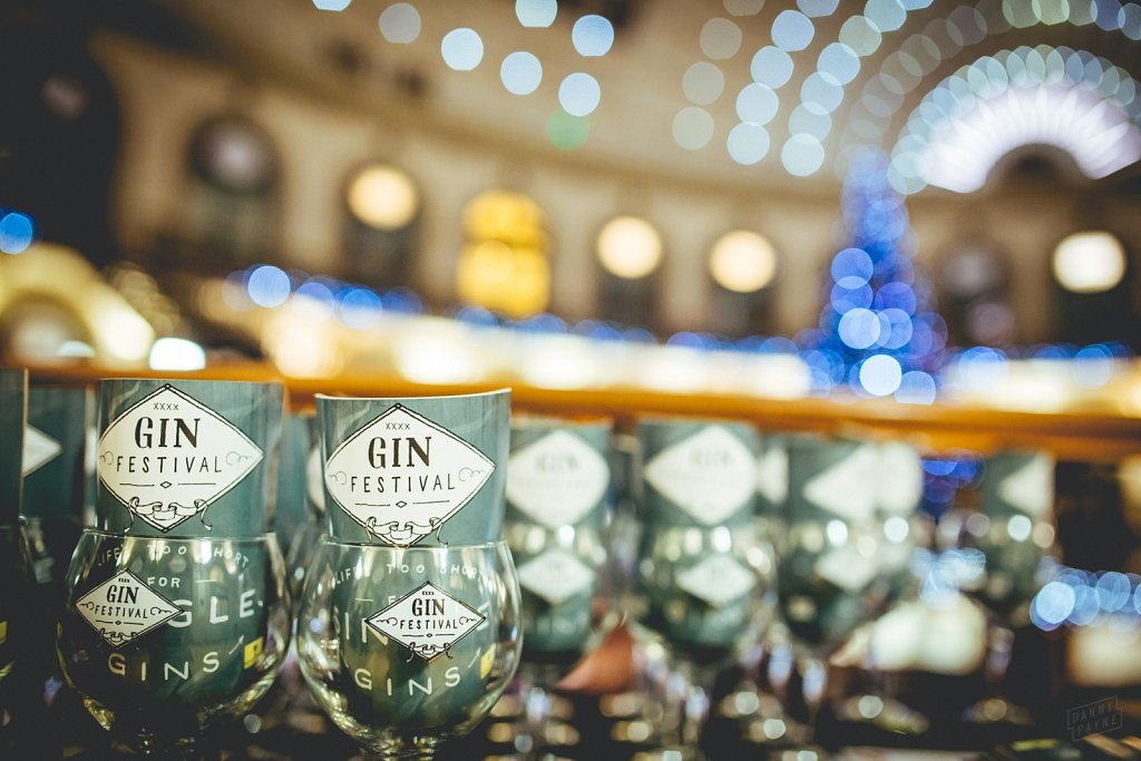 Gin Festival @ Leeds Corn Exchange, Dec 2014