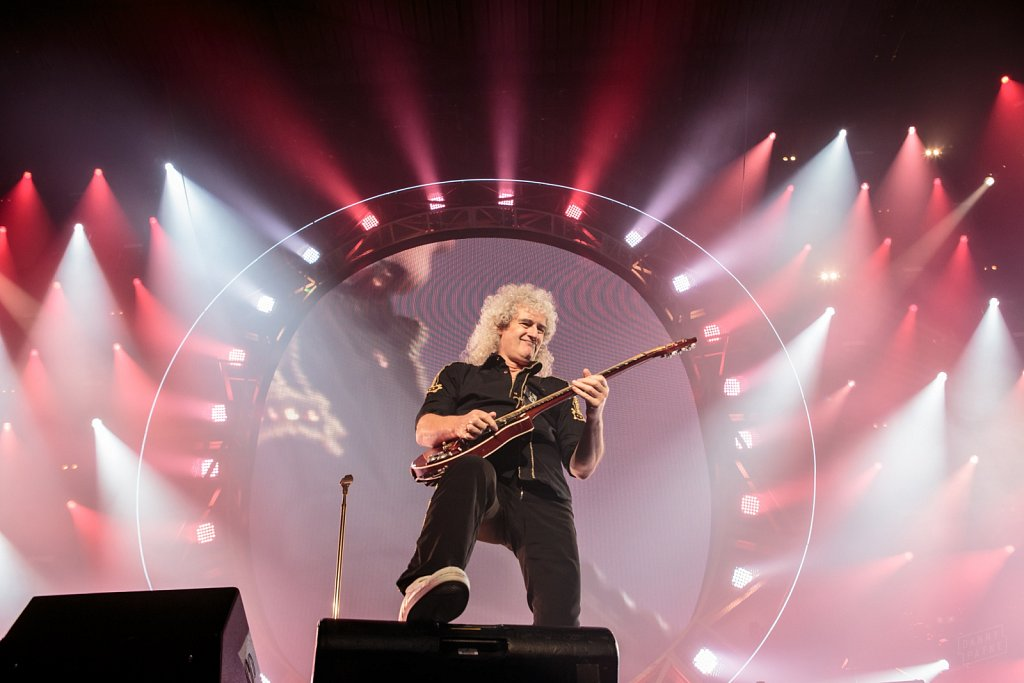 Queen + Adam Lambert @ Leeds Arena, Jan 2015