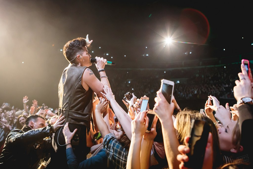 The Script @ Leeds Arena, Feb 2015
