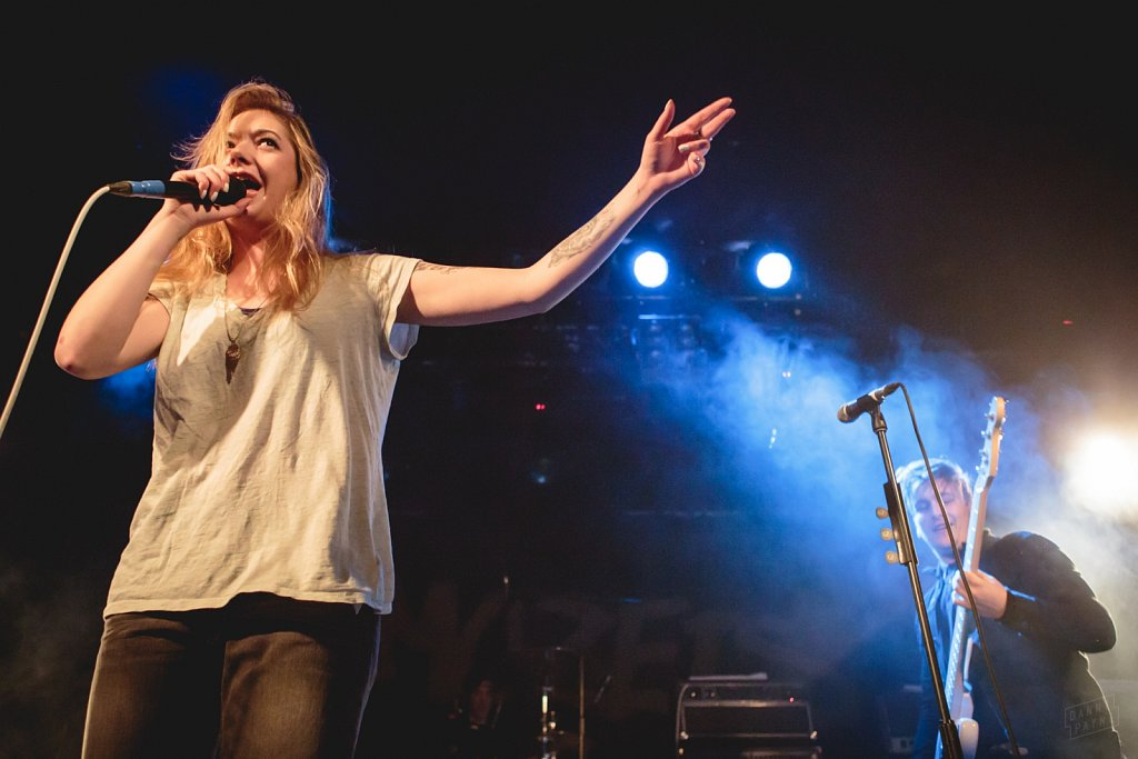 Marmozets @ Leeds Beckett, Feb 2015