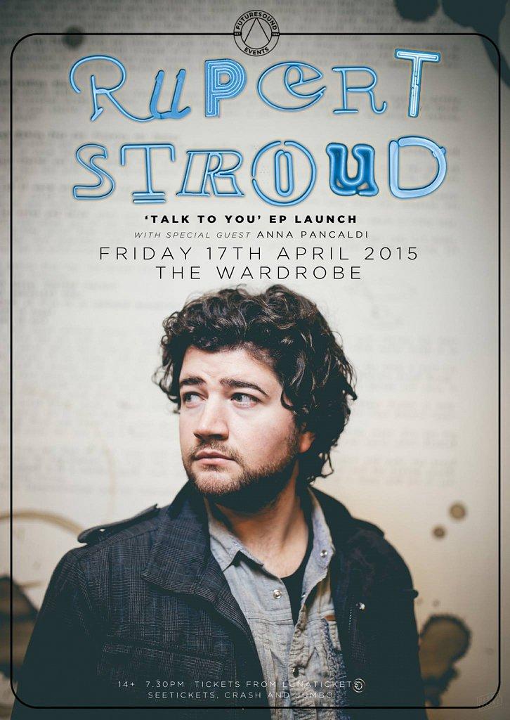Rupert Stroud // EP Launch Poster