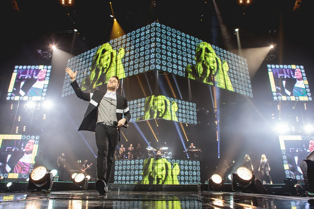 Olly Murs @ Leeds Arena, Apr 2015