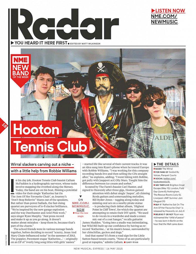 Hooton Tennis Club // NME