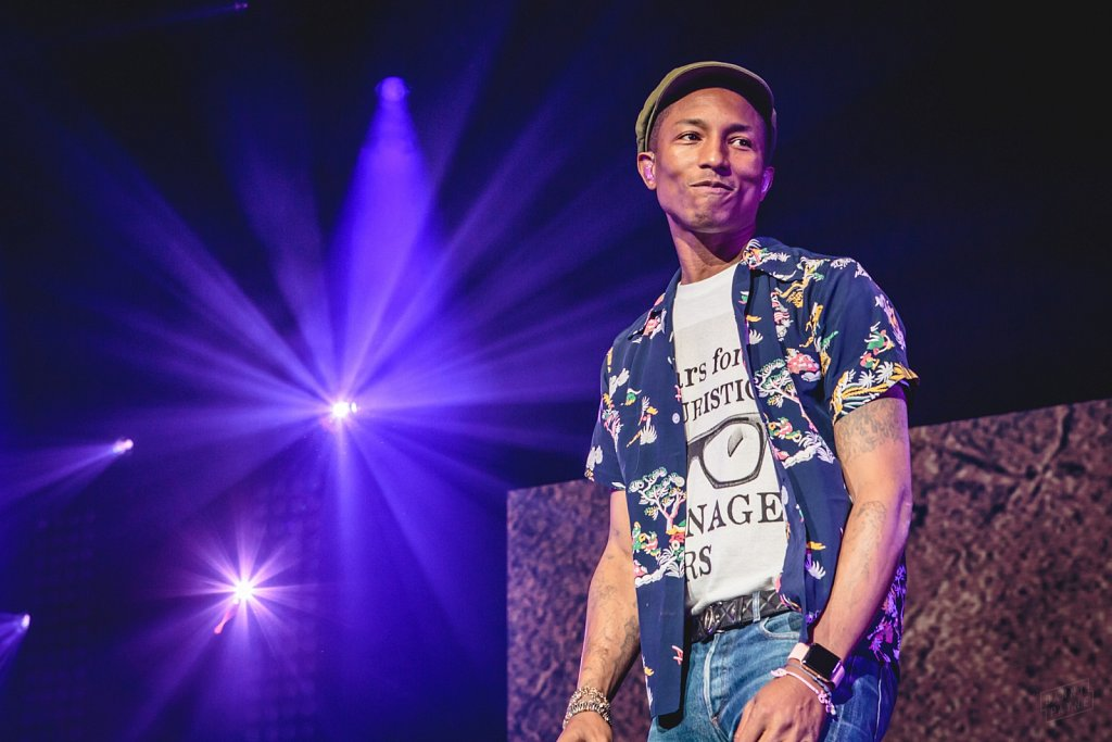 Pharrell Williams @ Leeds Arena, Jun 2015