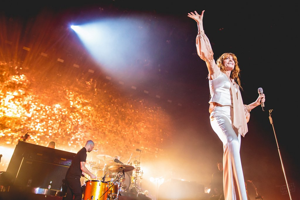 Florence + The Machine @ Sheffield Arena, Sep 2015
