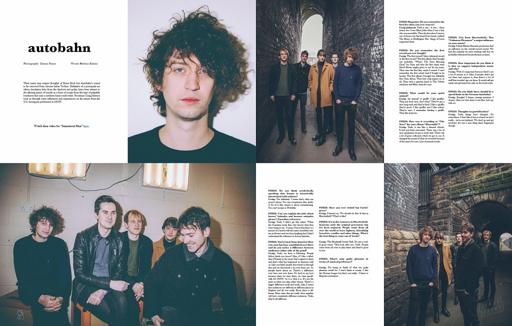 Autobahn // Foxes Magazine