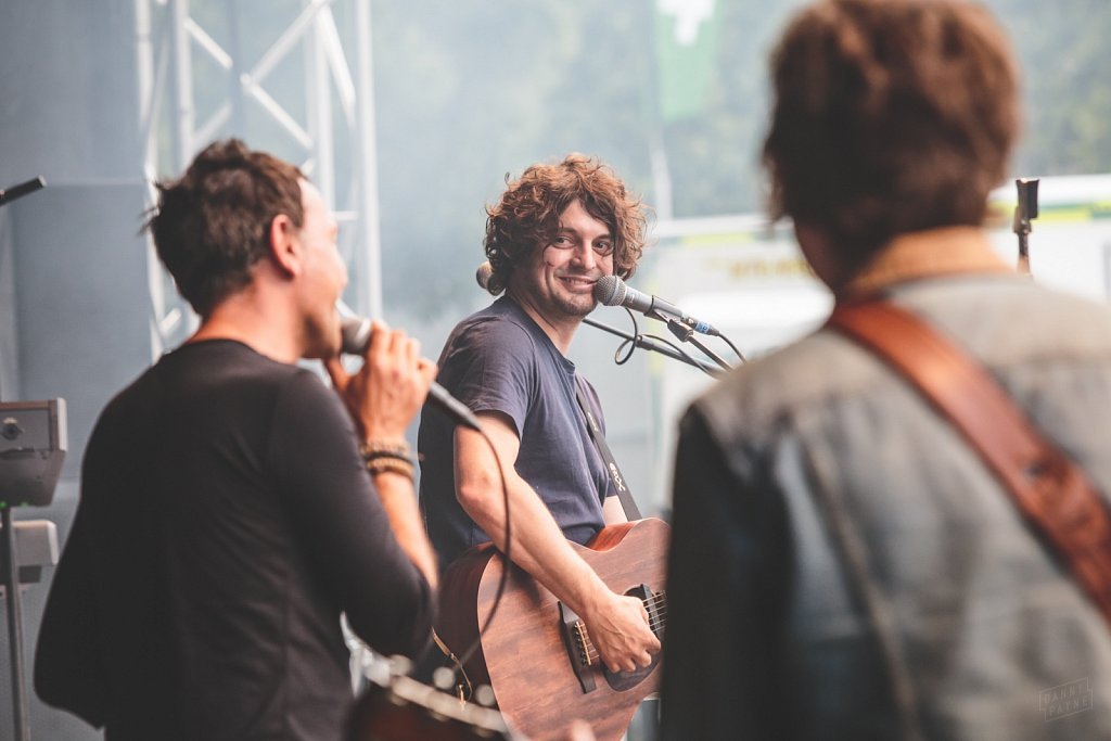 Shed Seven and Chris Helme