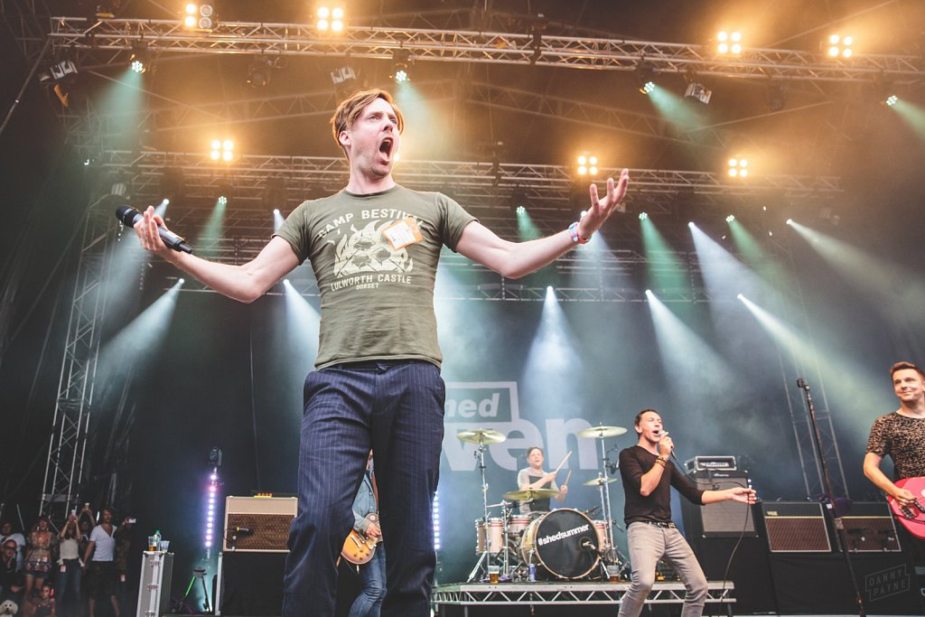 Shed Seven and Ricky Wilson