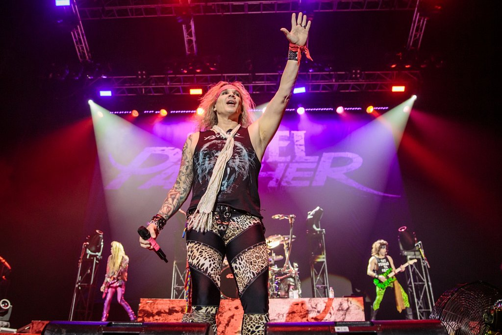 Steel Panther @ Manchester Arena, Oct 2016