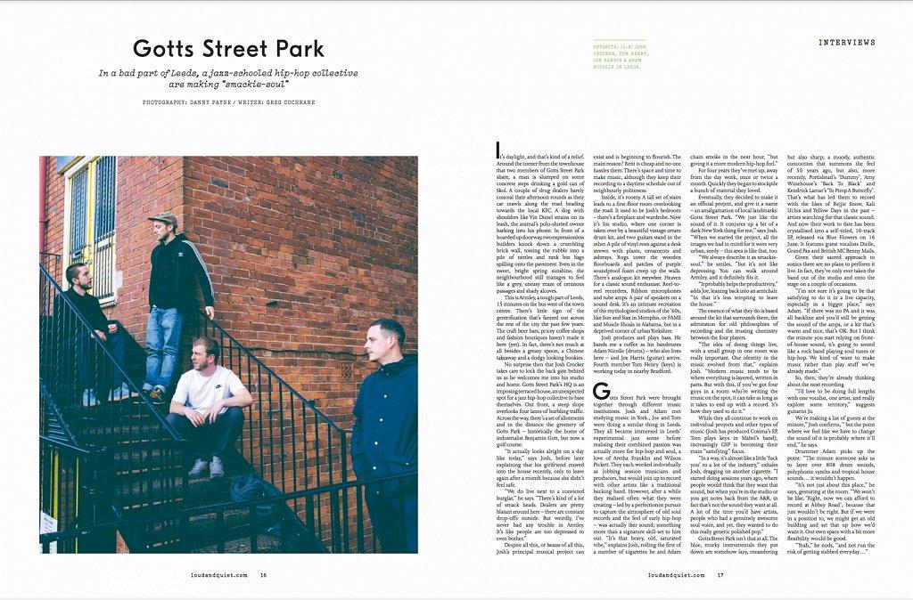 Gotts Street Park // Loud & Quiet