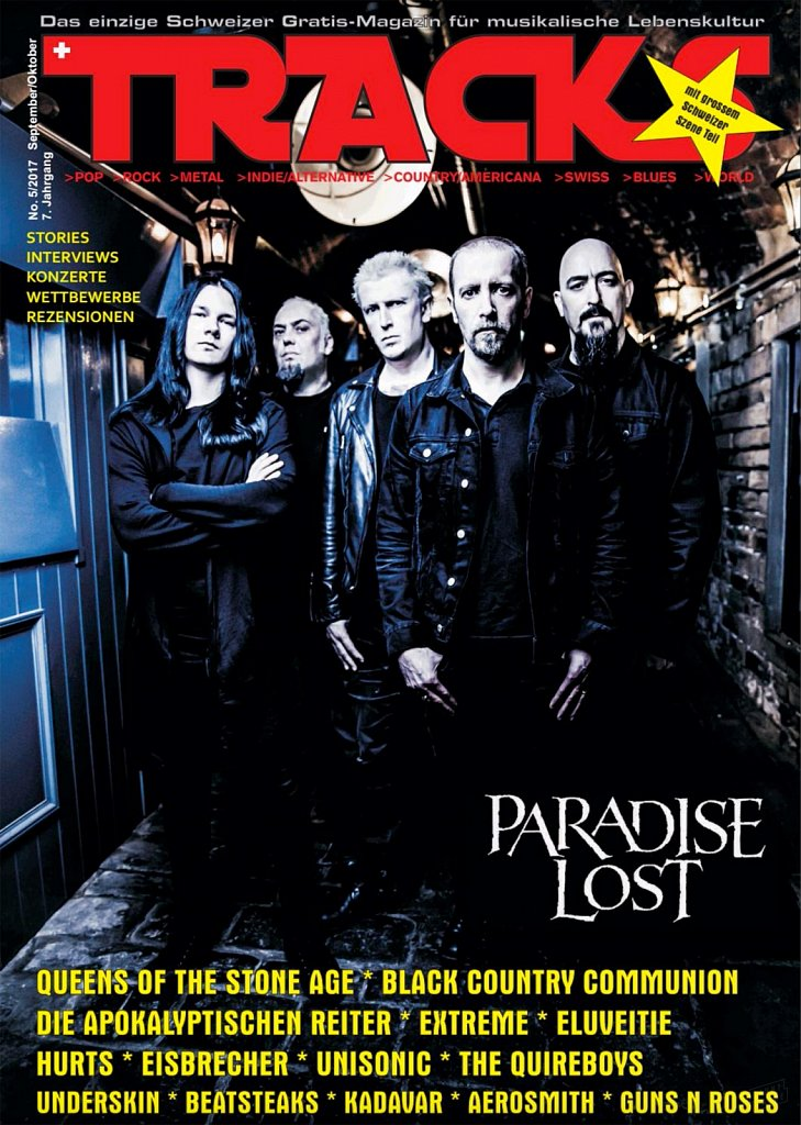 Paradise Lost (cover) // Tracks Magazine (Germany)