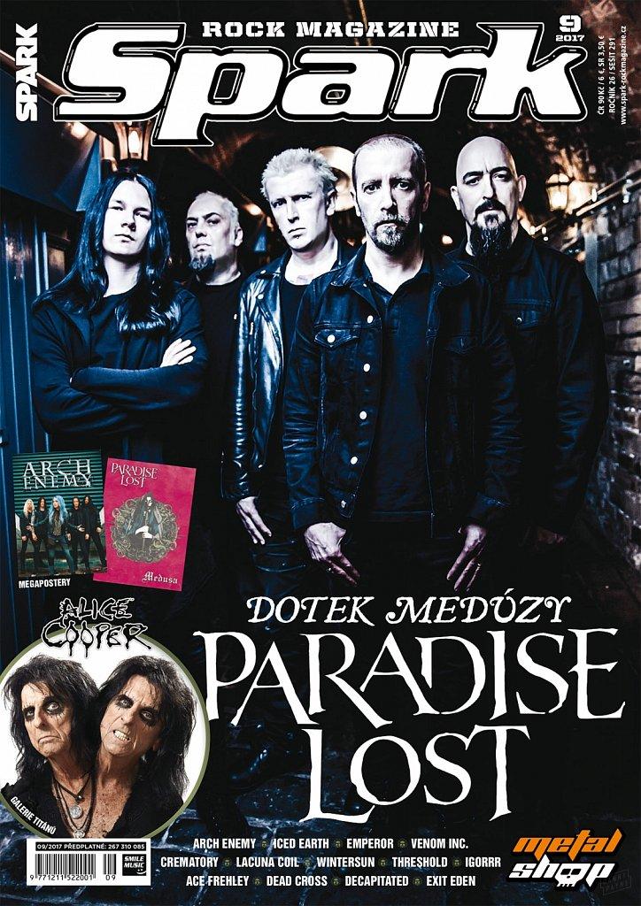 Paradise Lost (cover) // Spark Magazine (Czech Republic)