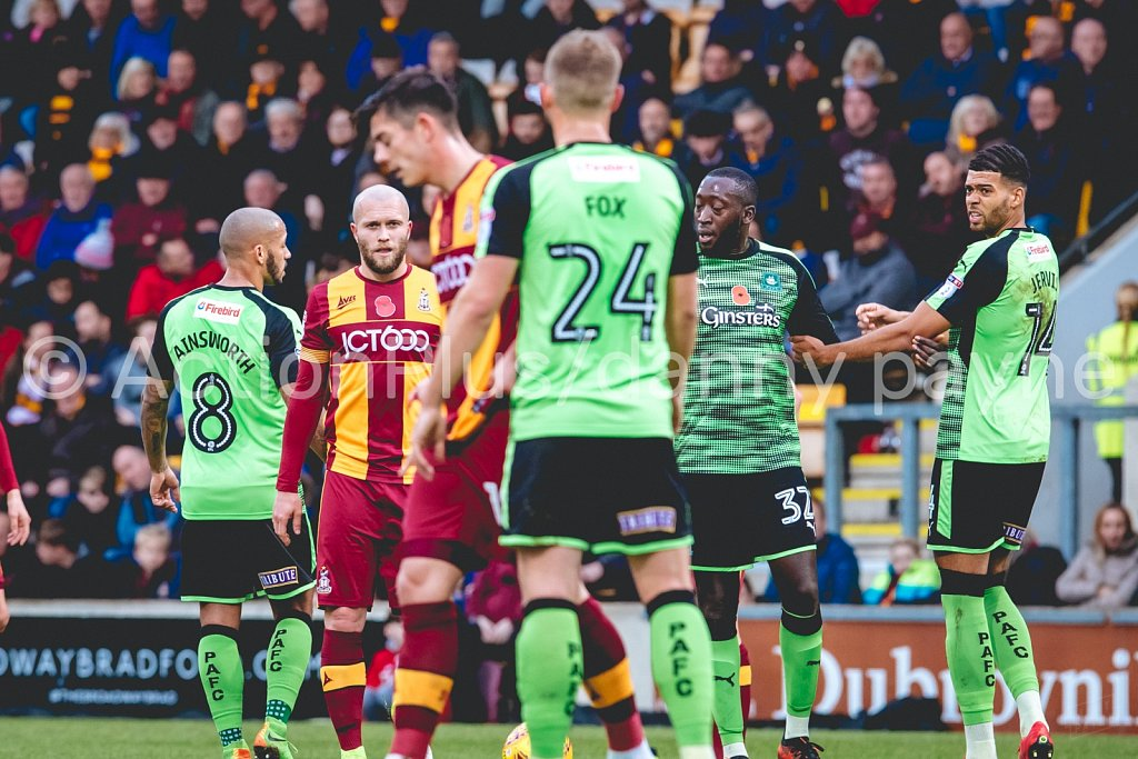 Bradford City vs Plymouth Argyle