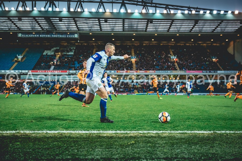Blackburn Rovers v Hull City, Jan 2018
