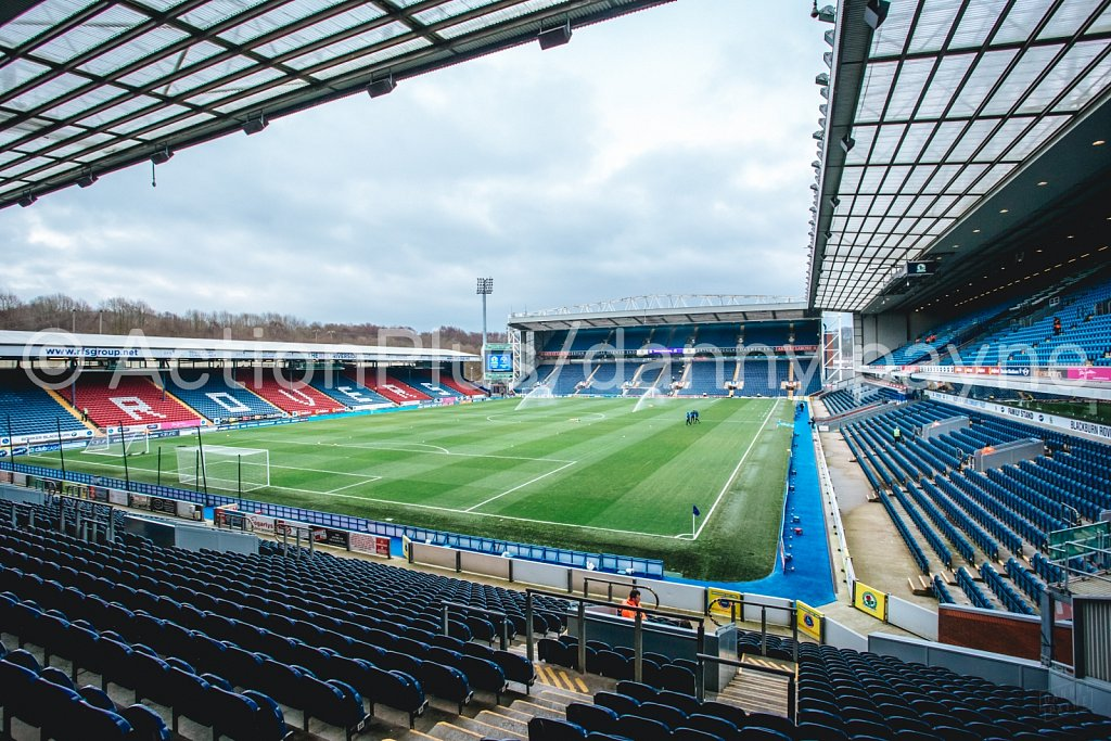 Blackburn Rovers v Shrewsbury Town