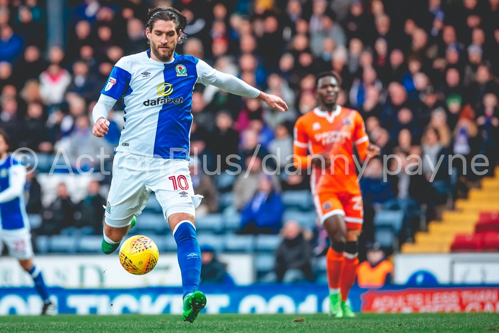 Blackburn Rovers v Shrewsbury Town, Jan 2018