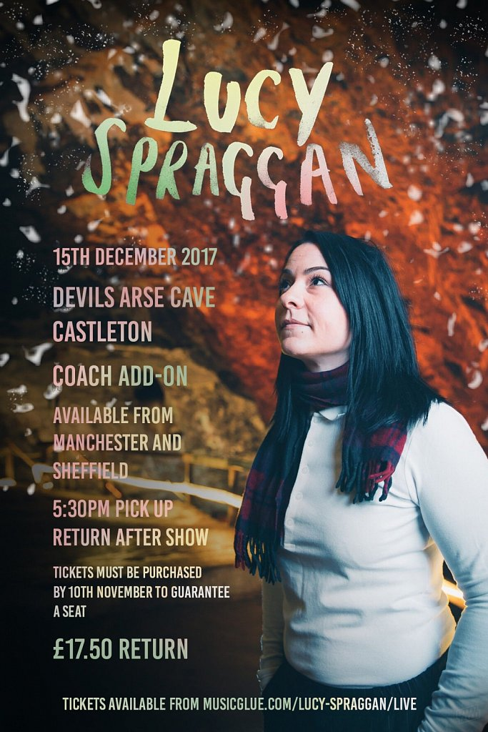Lucy Spraggan // Cave Show Poster