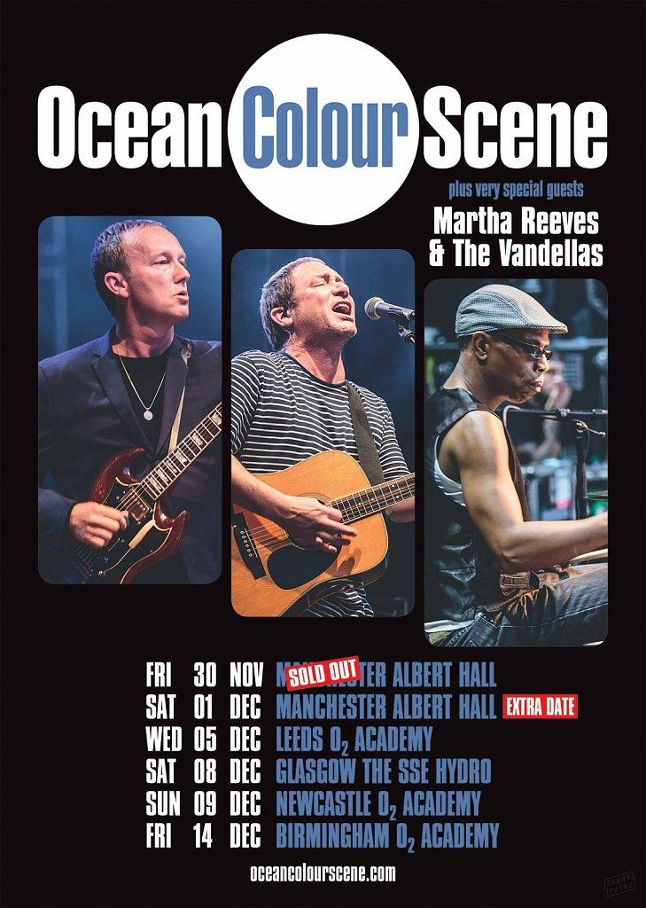 Ocean Colour Scene // 2018 Tour Poster