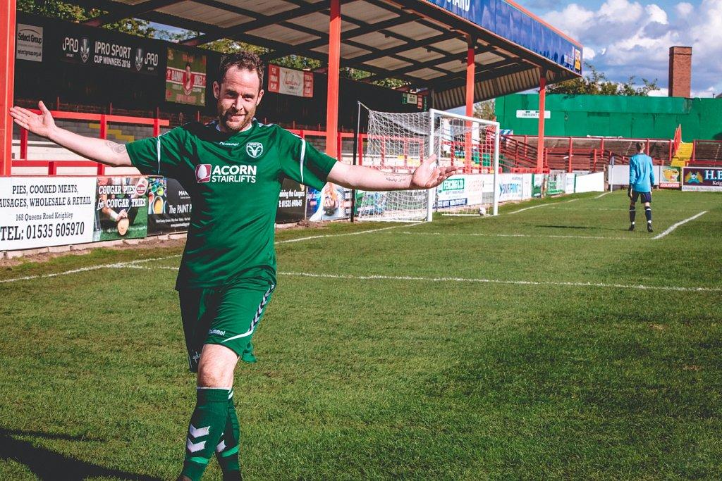 Steeton AFC v Atherton Laburnum Rovers, Aug 2018