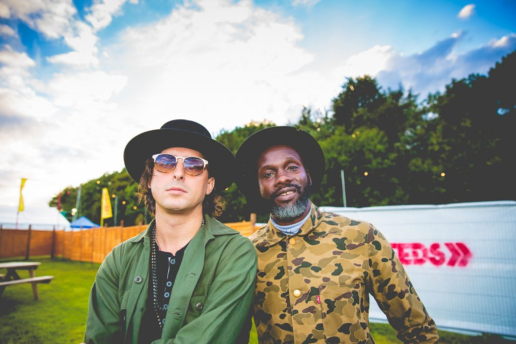 Carl Barât and Gary Powell