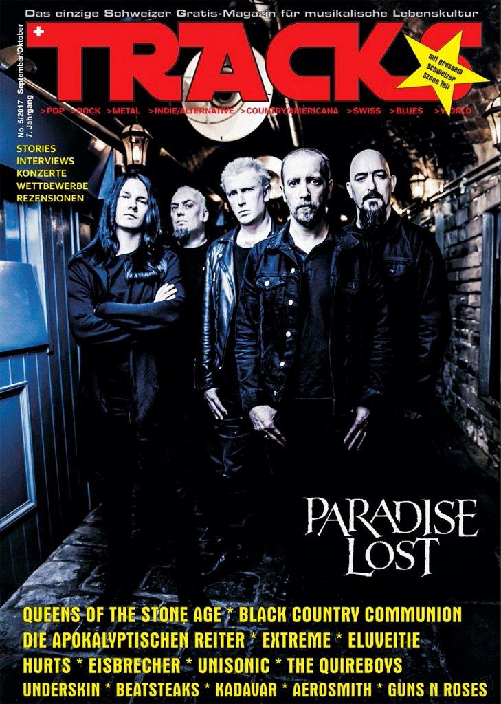 Paradise Lost (cover) // Tracks Magazine (Germany)